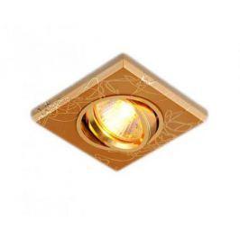 Встраиваемый светильник Elektrostandard 2080 MR16 GD золото 4690389002144