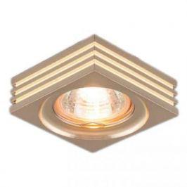 Встраиваемый светильник Elektrostandard 6064 MR16 GD золото 4690389055652