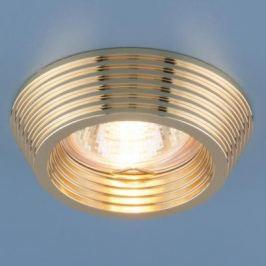 Встраиваемый светильник Elektrostandard 6066 MR16 GD золото 4690389055690