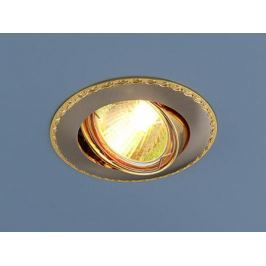 Встраиваемый светильник Elektrostandard 635 MR16 SNG сатин никель/золото 4690389010996