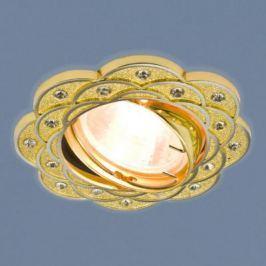 Встраиваемый светильник Elektrostandard 8006 MR16 GD/N золото/никель 4690389060564