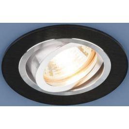 Встраиваемый светильник Elektrostandard 1061/1 MR16 BK черный 4690389095450