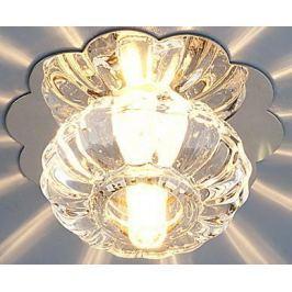 Встраиваемый светильник Elektrostandard 847 G4 CH/CL хром/прозрачный 4607176191066