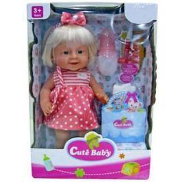 Кукла-младенец Shantou Gepai Прелестная малышка Y16203245 40 см писающая пьющая Y16203245