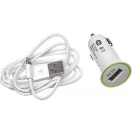 Автомобильное зарядное устройство Olto CCH-2105 HARPER-O00000563 USB 8-pin Lightning 1A белый