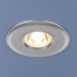 Встраиваемый светильник Elektrostandard 107 MR16 SL серебро 4690389076237