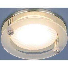 Встраиваемый светильник Elektrostandard 1068 GX53 GD золото 4690389078859