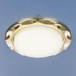 Встраиваемый светильник Elektrostandard 1064 GX53 GD золото 4690389076176