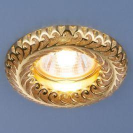 Встраиваемый светильник Elektrostandard 7001 MR16 GD золотой блеск/золото 4690389074172