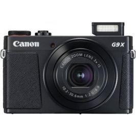 Фотоаппарат Canon PowerShot G9 X Mark II 20.2Mp 3xZoom черный 1717C002