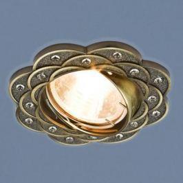 Встраиваемый светильник Elektrostandard 8006 MR16 SB бронза 4690389060588