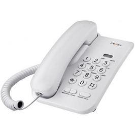 Телефон проводной Texet TX-212 серый