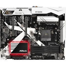Материнская плата ASRock X370 Killer SLI Socket AM4 AMD B350 4xDDR4 2xPCI-E 16x 4xPCI-E 1x 6 ATX Retail