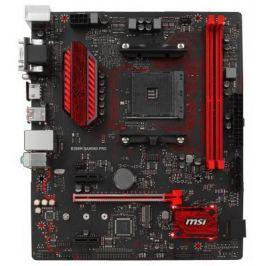 Материнская плата MSI B350M GAMING PRO Socket AM4 AMD B350 2xDDR4 1xPCI-E 16x 2xPCI-E 1x 4 mATX Retail