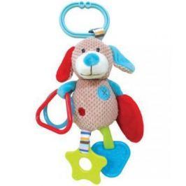 """Развивающая игрушка Жирафики Подвеска с зеркальцем прорезывателями и погремушками """"Собачка Билли"""" 939332"""