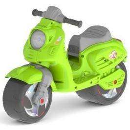 Каталка-мотоцикл RT Скутер зеленый ОР502