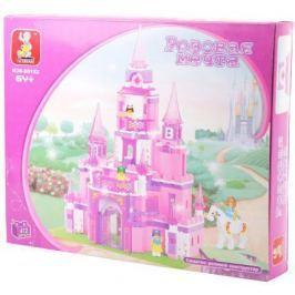 "Конструктор SLUBAN ""Розовая мечта"" - Замок принцессы 472 элемента M38-B0152"