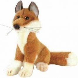 Мягкая игрушка лисица Hansa Лиса искусственный мех рыжий 19 см 2826