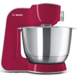 Кухонный комбайн Bosch MUM58420 серебристо-розовый