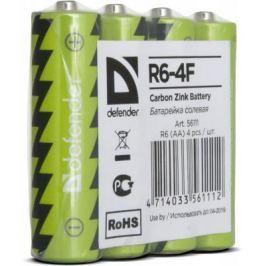 Батарейки Defender 56111 AA 4 шт