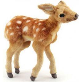 Мягкая игрушка олень Hansa Олененок Бэмби искусственный мех синтепон разноцветный 30 см 4936