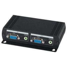 Передатчик SC&T VE05ALT-2 для VGA-сигнала и стерео аудиосигнала на 4 удаленных устройства