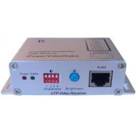 Комплект OSNOVO TA-CPD+RA-CPD передатчик+приёмник для передачи видеосигнала+питания+данных до 1500м по неэкранированной витой паре CAT5e