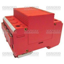 Устройство защиты OSNOVO SP-AC3D/220-1 для 3-х фазных цепей 380в на Din-рейку Максимальный ток разряда 20кА