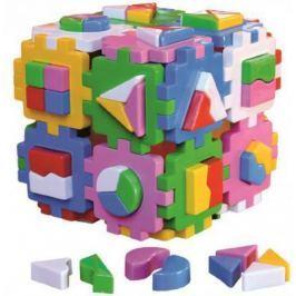 Сортер ТехноК Куб Умный малыш Супер Логика 2650