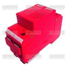 Устройство защиты OSNOVO SP-ACD/220-1 для цепей 220в на Din-рейку Максимальный ток разряда 40кА