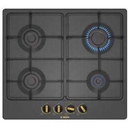 Варочная панель газовая Bosch PGP6B3B60 черный