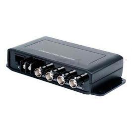 Приемопередатчик видеосигналов SC&T TTP414VD 4 канала видео по витой паре на 600 м