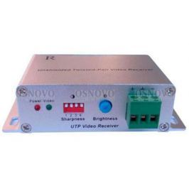 Приемник видео сигнала OSNOVO RA-C по витой паре на 2400м