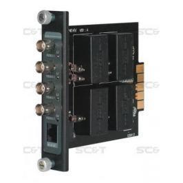 Приемопередатчик видеосигнала SC&T TRP414VH 4-канальный по витой паре на 600 м с повышенной помехоустойчивостью