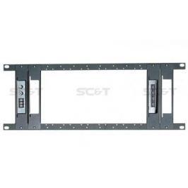 "Панель SC&T TPN012-T TPN012 + 4 держателя TPN012T для стойки 19"" под установку TTP414V/TTA111AVR/TTP444V"