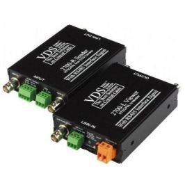 Комплект SC&T VDS 2700 (DC12V) Передатчик VDS 2700-R + Приемник VDS 2700-L Передача по одному коаксиальному кабелю до 800 м