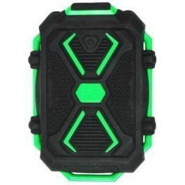 Портативное зарядное устройство Ritmix RPB-10407LST 10400мАч черно-зеленый