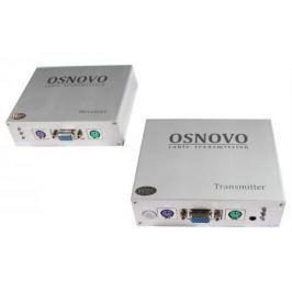 Комплект OSNOVO TA-VKM/6+RA-VKM/6 приемник + передатчик для передачи VGA/Клавиатура/Мышь до 300м