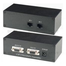 Комплект SC&T VD01 приемник+ передатчик для передачи VGA и RS-232 135м