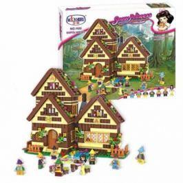 Конструктор Winner Bricks принцесса, Принцесса и гномы 658 элементов 1105