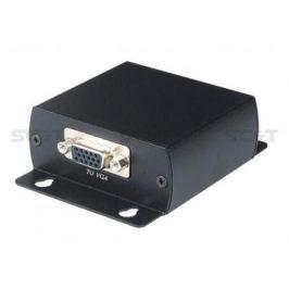 Передатчик SC&T TTA111VGA-T для передачи VGA сигнала до 300м. Вход VGA выход RJ45