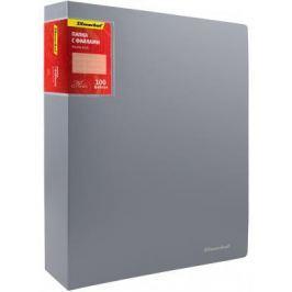 Папка с 100 файлами Silwerhof Perlen A4 1.2мм карман серебристый 291900-77