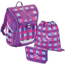 Ранец водонепроницаемый Step by Step BaggyMax Fabby Pink Star 18 л разноцветный