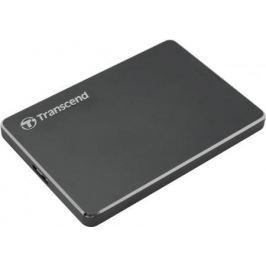 """Внешний жесткий диск 2.5"""" USB3.0 2 Tb Transcend StoreJet 25 TS2TSJ25C3N серый"""
