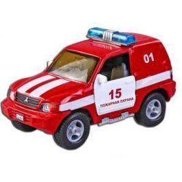 Машина Пламенный мотор 1:36 Mitsubishi Пожарная охрана, свет, звук, откр.двери, 13см 870205