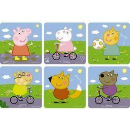 Пазл ОРИГАМИ 6 в 1 Peppa Pig На прогулке 6 элементов 01564