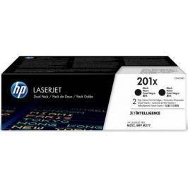 Картридж HP 201X CF400XD для HP Color LaserJet Pro M252dw M252n M274n M277dw M277n черный 2800стр