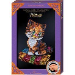 Набор для творчества ДАНКО-ТОЙС мозаика из пайеток «Котёнок» Пм-01-13 от 7 лет