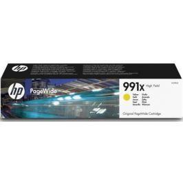Картридж HP 991X M0J98AE для HP PageWide Pro 772dn 777z 750dw желтый