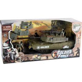 Игровой набор CHAP MEI Танковый прорыв (3 предм. 2 фигуры, звук, свет, стреляет) 521013